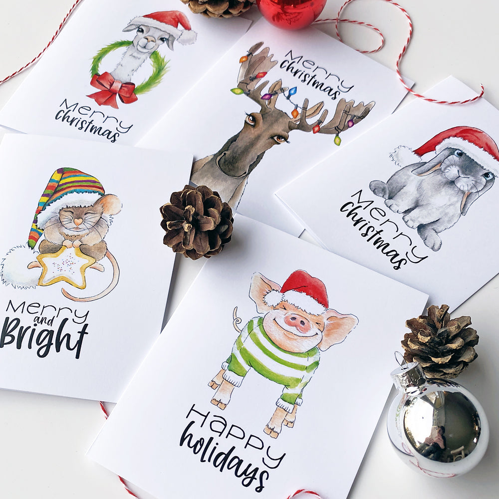Holiday Card 5 Pack