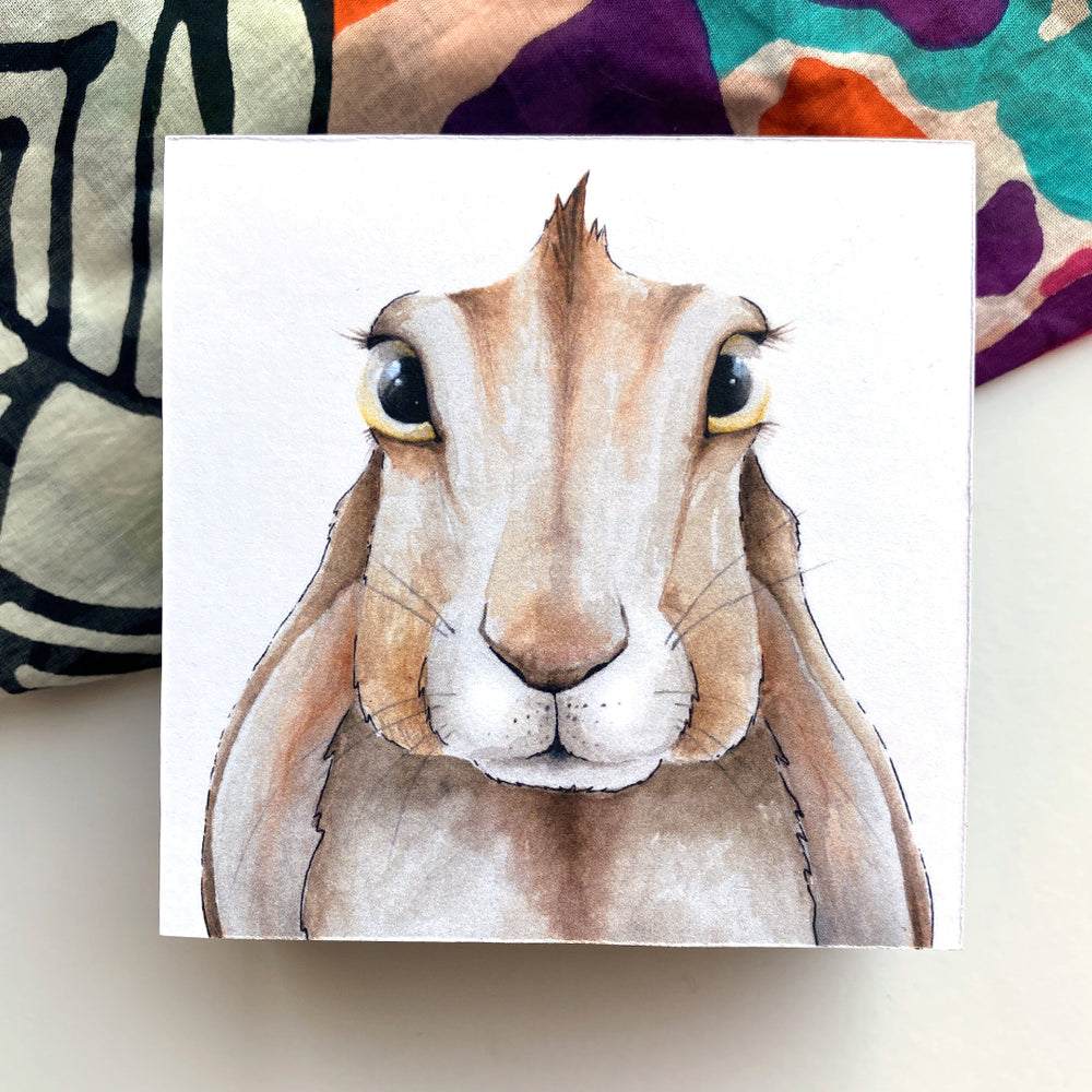 Load image into Gallery viewer, Rabbit 4x4 Mini Art Block