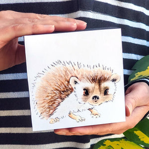 Hedgehog 4x4 Mini Art Block