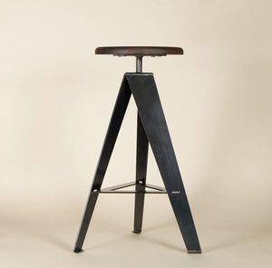 PLAIN METAL, Counter Stool, WM - Old Tree Furniture Co
