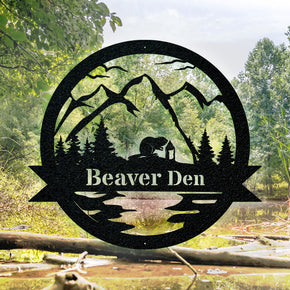 Great Outdoor Beaver Monogram