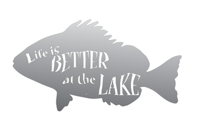 Life is Better at the Lake - Custom Product