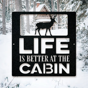 Life is Better at the Cabin - Deer