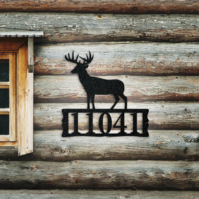 Deer Address SIgn