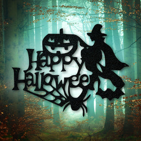 Happy Halloween Metal Sign