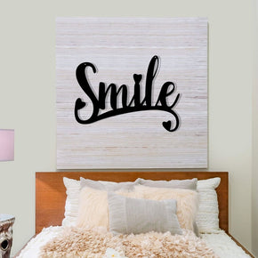 Smile - Metal Sign