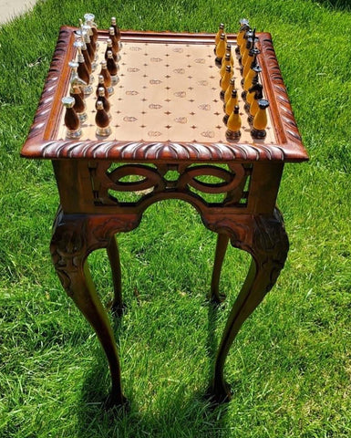Viking King Chess Tables