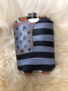 """We The People"" 12oz flask cover"