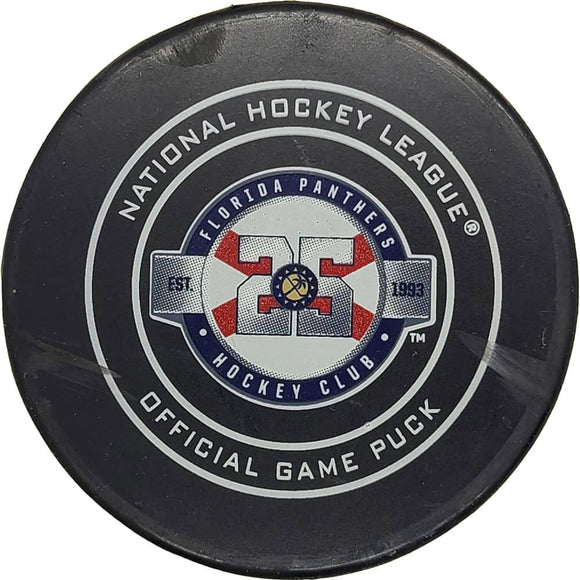 John Tavares Toronto Maple Leafs NHL Goal Puck - 12/15/2018 - GameWornDirect