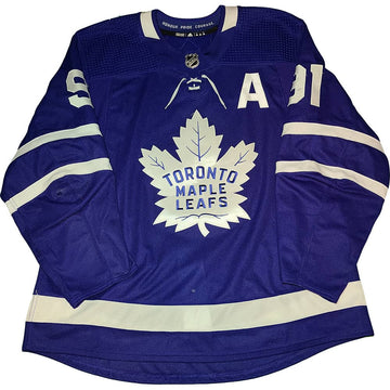 John Tavares 2018-19 Toronto Maple Leafs Game Used Jersey - GameWornDirect