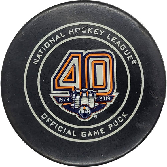 John Tavares Toronto Maple Leafs NHL Goal Puck - 3/9/2019 - GameWornDirect