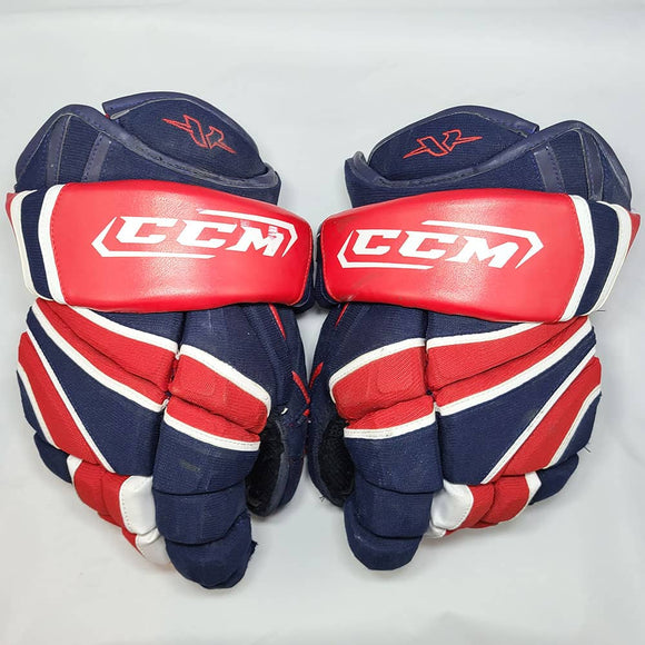 John Tavares 2008-09 Oshawa Generals Game Used Gloves - GameWornDirect