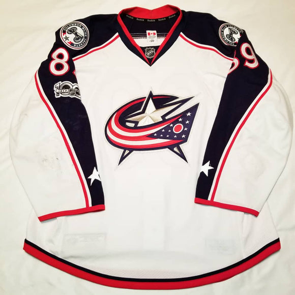 Sam Gagner 2016-17 Columbus Blue Jackets Game Worn Jersey - GameWornDirect