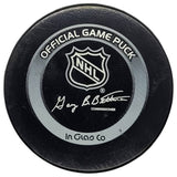 Luc Robitaille Los Angeles Kings 1,354th NHL Point - Passing Guy Lafleur - GameWornDirect
