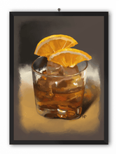 Load image into Gallery viewer, A Glass of Whiskey Art Print