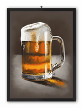 Load image into Gallery viewer, A Pint of Beer Art Print