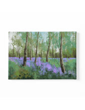 Load image into Gallery viewer, Bluebells Scenery Canvas Art Print
