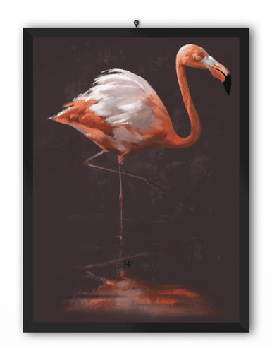 Flamingo Bird Art Print