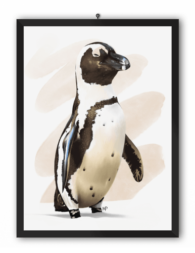 Humboldt Penguin Bird Art Print
