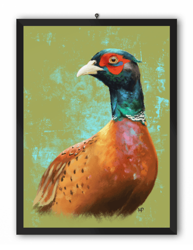 Pheasant Bird Art Print