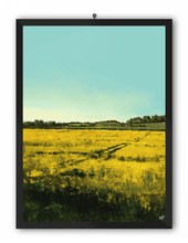 Load image into Gallery viewer, Sunlit Cornfield Scenery Art Print