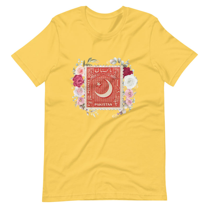 Women's Pakistan Crescent Stamped Short-Sleeve