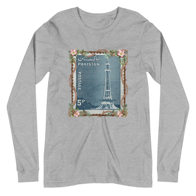 Men's Minar-E-Pakistan Stamped Long-Sleeve