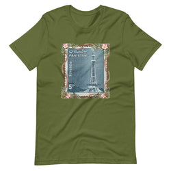 Men's Minar-E-Pakistan Stamped Short-Sleeve