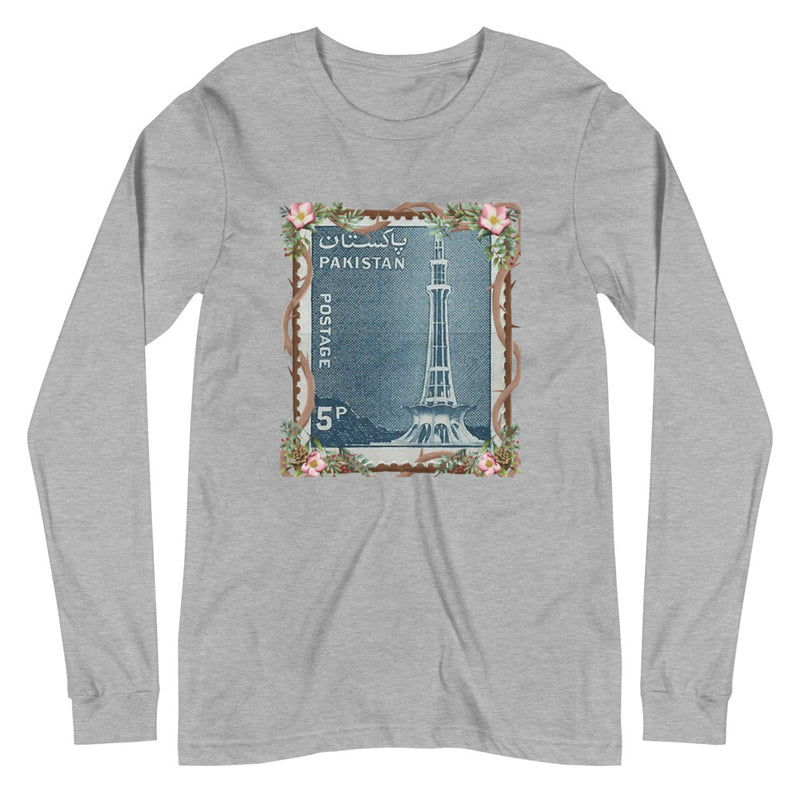 Women's Minar-E-Pakistan Stamped Long-Sleeve