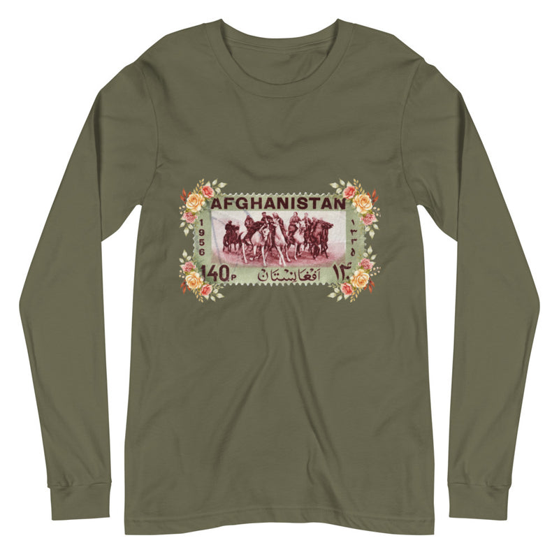 Women's Afghanistan Stamped Long-Sleeve