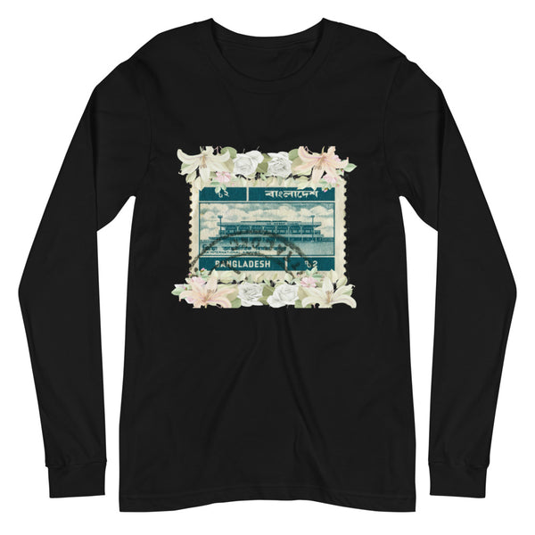 Women's Bengali Stamped Long-Sleeve