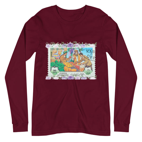Men's Afghanistan Bazaar Stamped Long-Sleeve
