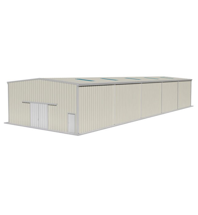 12m(W)X 15m(L-Extendable)X 5m (H) Warehouse W/ Single Skin Metal Cladding