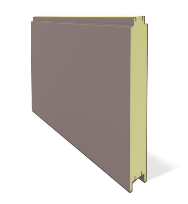 ISO Mineral Wool NonConcealed  Low Ribbed ALUMINIUM  Wall Panel