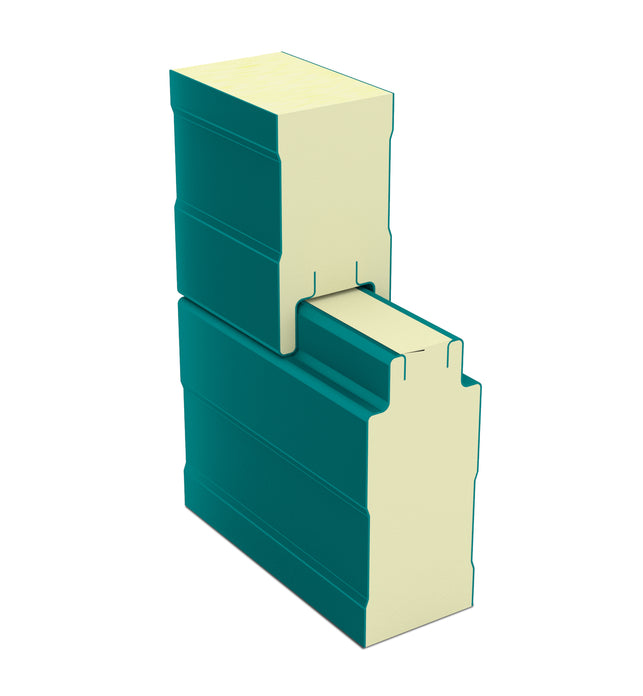 ISO PIR NON Concealed Low Rib PPGI Wall Panel