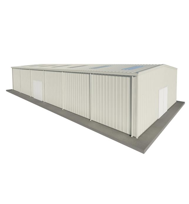 PEB Steel Warehouse 24 X 6 X 30m