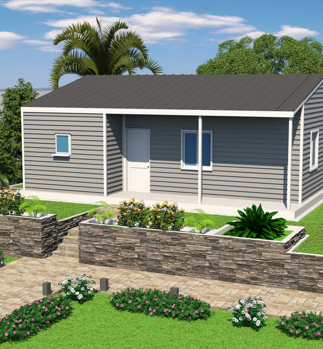 3 BR + Store Room (70 Sqm) Single Storey Housing