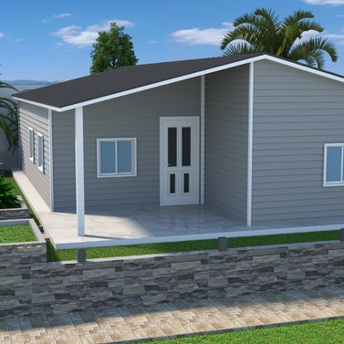 3BR + Store Room (100 Sqm) Single Storey Housing
