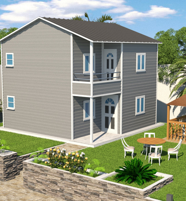 2 BR (80 Sqm) Double Storey Housing