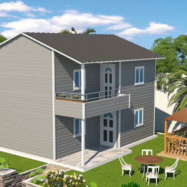 2 BR (100 Sqm) Double Storey Housing