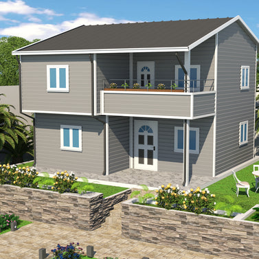 3 BR (103 Sqm) Double Storey Housing W/ Balcony - Type A