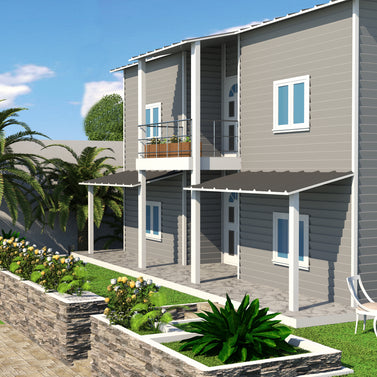 4 BR (158 Sqm) Double Storey Housing W/ Balcony - Type C
