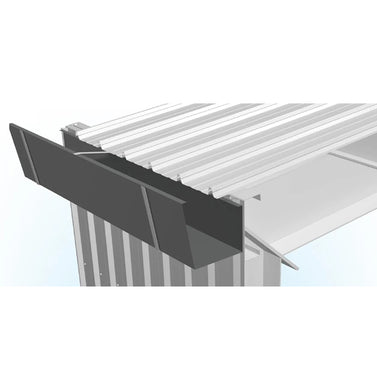 3 Metre PPGI Eave Gutter - 150mm Width with  610mm Girth