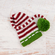 Load image into Gallery viewer, In-Stock 3-10 Year Christmas Stocking Hat