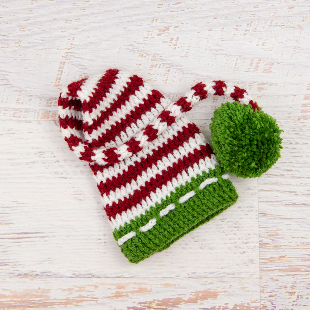 In-Stock 0-6 Month Children's Christmas Stocking Hat