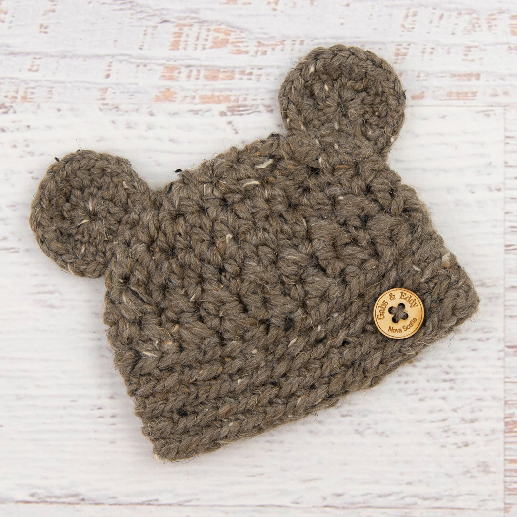 In-Stock 0-6 Month Chunky Little Bear in Barley