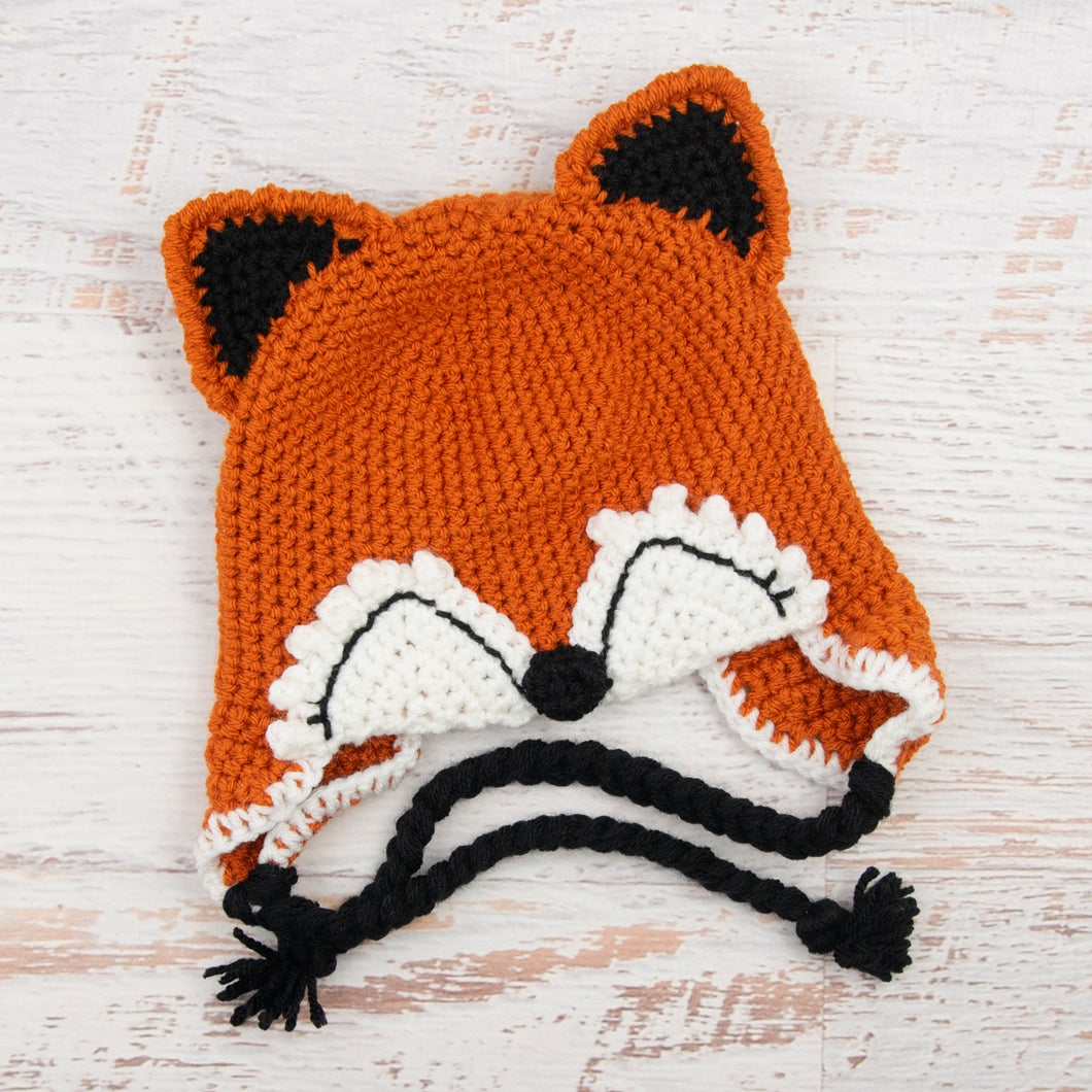 In-Stock 1-3 Year Baby Fox Hat