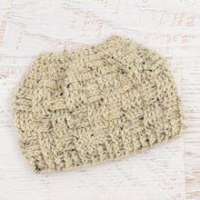 Load image into Gallery viewer, In-Stock 3-10 Year The 'Everyday' Messy Bun Hat in Oatmeal