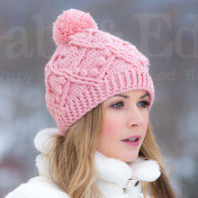 Load image into Gallery viewer, Pretty Little Pom Pom Toque