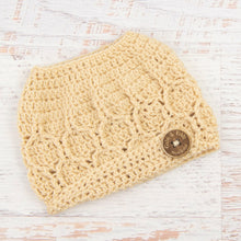 Load image into Gallery viewer, In-Stock The 'Dressy' Messy Bun Hat in Beige